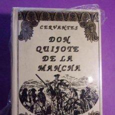 Libros de segunda mano: DON QUIJOTE DE LA MANCHA / CERVANTES / ILUSTRADO POR DORE / PRECINTADO. Lote 140549774