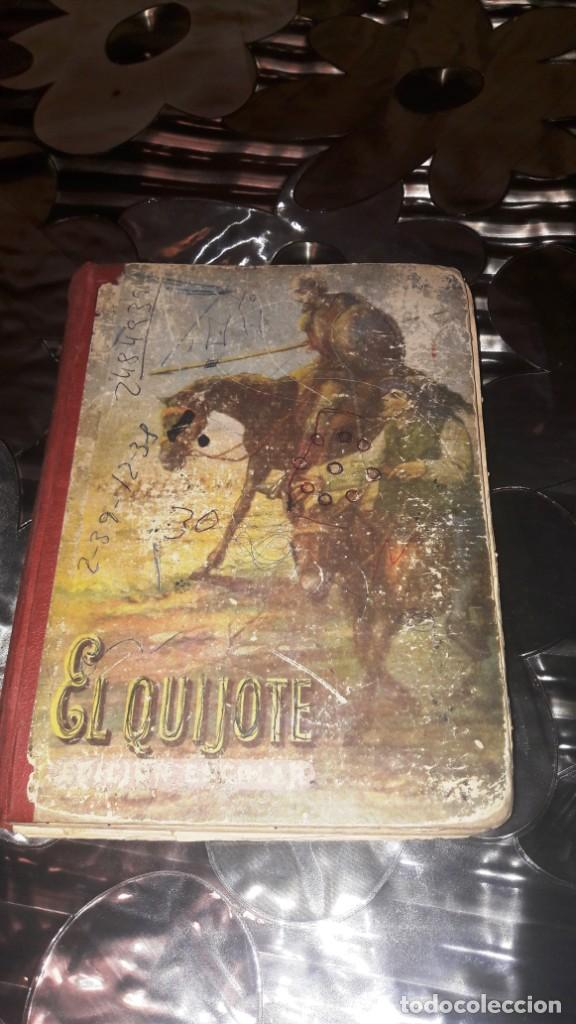 DON QUIJOTE DE LA MANCHA - EDICIÓN ESCOLAR - EDITORIAL LUIS VIVES - 1953 (Libros de Segunda Mano (posteriores a 1936) - Literatura - Narrativa - Clásicos)