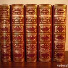 Libros de segunda mano: JOAN AMADES: COSTUMARI CATALÀ. EL CURS DE L'ANY. 5 VOLS. COMPLET (SALVAT, 1984) MOLT BON ESTAT. Lote 140612998