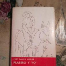 Libros de segunda mano: PLATERO Y YO - JUAN RAMÓN JIMÉNEZ - EDICIÓN COMPLETA ILUSTRADA POR ALVAREZ ORTEGA - 1966. Lote 141468866