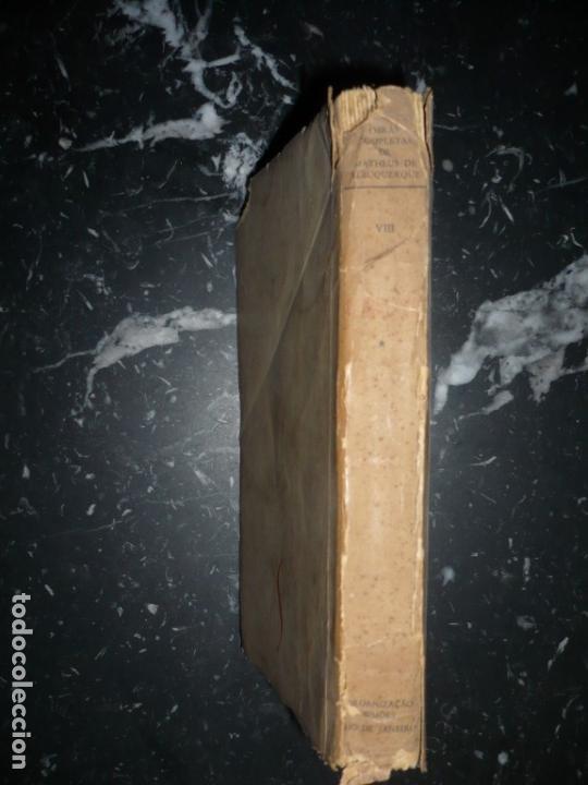 Libros de segunda mano: METAMORFOSES MATHEUS DE ALBUQUERQUE 1954 RIO DE JANEIRO DEDICADO A R.CANSINOS ASSENS - Foto 11 - 141598750