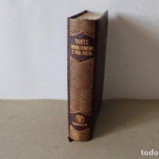 Libros de segunda mano: EDITORIAL AGUILAR. DIVINA COMEDIA Y LA VIDA NUEVA. DANTE ALIGHIERI. 7ª EDICION 1964. Lote 141644790