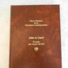 Livres d'occasion: EL ESPÍA QUE SURGIÓ DEL FRÍO-JOHN LE CARRÉ-O. M. DE LA LITERATURA CONTEMPORÁNEA-SEIX BARRAL Nº 11. Lote 141814902