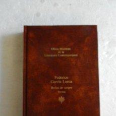 Libros de segunda mano: BODAS DE SANGRE/YERMA-FEDERICO G. LORCA-OBRAS M. DE LA LITERATURA CONTEMPORÁNEA-SEIX BARRAL Nº 30. Lote 192966525