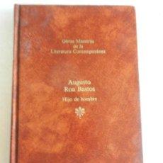 Libros de segunda mano: HIJO DE HOMBRE-AUGUSTO ROA BASTOS-OBRAS MAESTRAS DE LA LITERATURA CONTEMPORÁNEA-SEIX BARRAL Nº 56. Lote 141833102