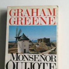 Livres d'occasion: MONSEÑOR QUIJOTE. GRAHAM GREENE. ARGOS VERGARA. . RÚSTICA.. Lote 142140820