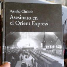 Libros de segunda mano: AGATHA CHRISTIE. ASESINATO EN EL ORIENT EXPRESS. RBA. 2010. Lote 142340062