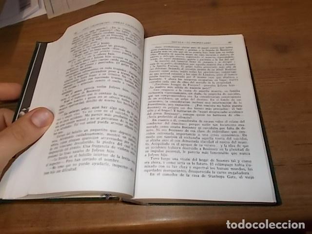 Libros de segunda mano: JOHN GALSWORTHY. OBRAS ESCOGIDAS ( LA SAGA DE LOS FORSYTE, LA HUELGA...). AGUILAR,EDITORIAL. 1967 - Foto 3 - 142556302