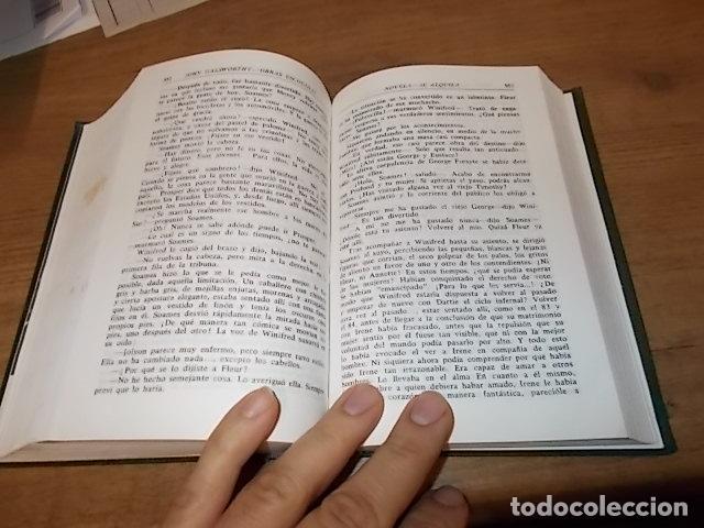 Libros de segunda mano: JOHN GALSWORTHY. OBRAS ESCOGIDAS ( LA SAGA DE LOS FORSYTE, LA HUELGA...). AGUILAR,EDITORIAL. 1967 - Foto 4 - 142556302