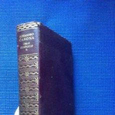 Libros de segunda mano: OBRAS COMPLETAS ALEJANDRO CASONA TOMO 2 AGUILAR. Lote 142792718