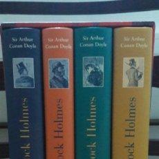 Libros de segunda mano: OBRA COMPLETA SHERLOCK HOLMES EDITORIAL ÓPTIMA. Lote 142974910