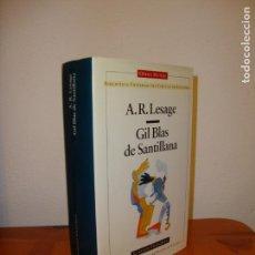 Libros de segunda mano: GIL BLAS DE SANTILLANA - A. R. LESAGE - CÍRCULO DE LECTORES, OPERA MUNDI, MUY BUEN ESTADO, TELA. Lote 142980766