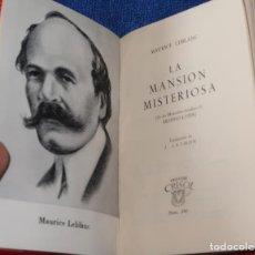 Libros de segunda mano: LA MANSIÓN MISTERIOSA - MAURICE LEBLANC - CRISOL Nº 240 - AGUILAR (1962). Lote 142998974