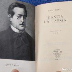 Libros de segunda mano: JUANITA LA LARGA - JUAN VARELA - CRISOL Nº 73 - AGUILAR (1962). Lote 143003562