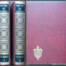 Libros de segunda mano: LOS MISERABLES. VICTOR HUGO. TOMO I Y II. 1973. Lote 143214822