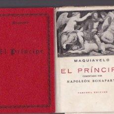 Livros em segunda mão: MAQUIAVELO - EL PRÍNCIPE - EDICIONES IBERICAS . Lote 143635150