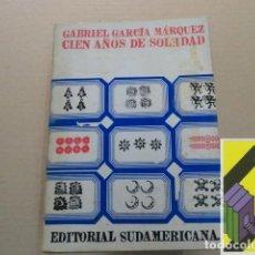Libros de segunda mano: GARCIA MARQUEZ, GABRIEL: CIEN AÑOS DE SOLEDAD. Lote 143691350