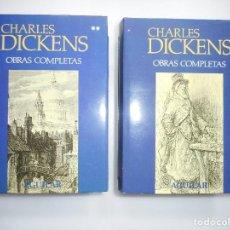 Libros de segunda mano: CHARLES DICKENS OBRAS COMPLETAS (2 TOMOS) Y91435. Lote 143700990