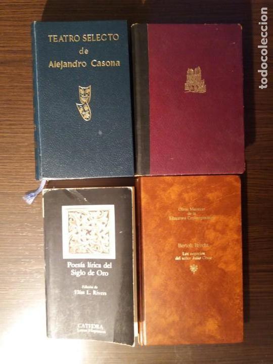 LOTE DE 4 LIBROS CON CLASICOS DE LA LITERATURA (Libros de Segunda Mano (posteriores a 1936) - Literatura - Narrativa - Clásicos)