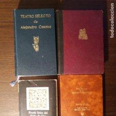Libros de segunda mano: LOTE DE 4 LIBROS CON CLASICOS DE LA LITERATURA. Lote 143824710