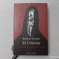 Libros de segunda mano: EL CRITICON - BALTASAR GRACIÁN. Lote 144375962