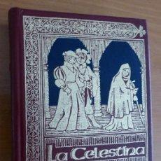 Libros de segunda mano: LA CELESTINA. FERNANDO DE ROJAS. GRANDES OBRAS LITERATURA UNIVERSAL. TAPA DURA. DORADOS. V. Lote 144500602