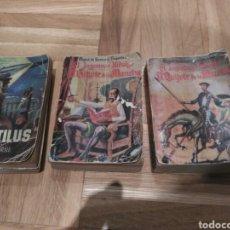 Libros de segunda mano: LOTE MINI LIBROS ANTIGUOS, DON QUIJOTE Y NAUTILUS. Lote 144518840