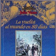 Libros de segunda mano: LA VUELTA AL MUNDO EN 80 DIAS - LOS VIAJES EXTRAORDINARIOS JULIO VERNE - RUEDA 2000. Lote 144651278