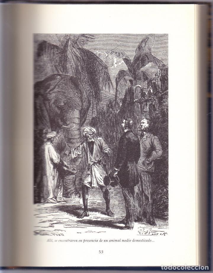 Libros de segunda mano: LA VUELTA AL MUNDO EN 80 DIAS - LOS VIAJES EXTRAORDINARIOS JULIO VERNE - RUEDA 2000 - Foto 2 - 144651278