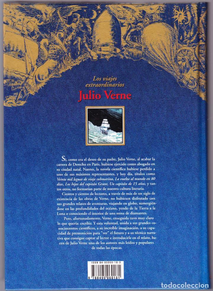Libros de segunda mano: LA VUELTA AL MUNDO EN 80 DIAS - LOS VIAJES EXTRAORDINARIOS JULIO VERNE - RUEDA 2000 - Foto 3 - 144651278