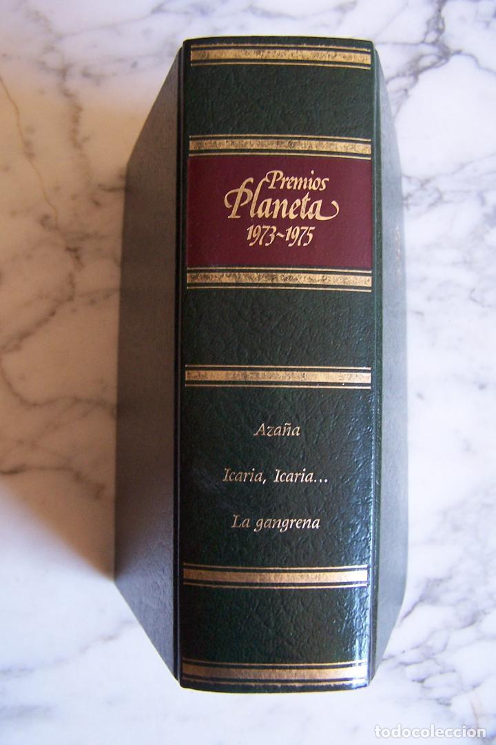 PREMIOS PLANETA 1973- 1975. AZAÑA/ ICARIA, ICARIA.../ LA GANGRENA. (Libros de Segunda Mano (posteriores a 1936) - Literatura - Narrativa - Clásicos)