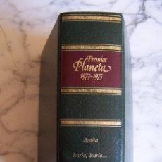 Libros de segunda mano: PREMIOS PLANETA 1973- 1975. AZAÑA/ ICARIA, ICARIA.../ LA GANGRENA.. Lote 145222094