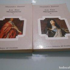 Libros de segunda mano: LOS TRES MOSQUETEROS - ALEJANDRO DUMAS - AÑO 1983 PLANETA. Lote 145254690