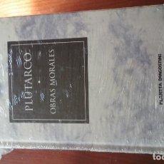 Livres d'occasion: OBRAS MORALES - PLUTARCO. Lote 145557674