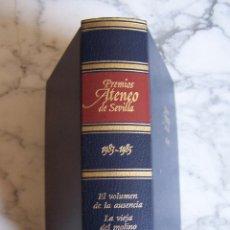 Libros de segunda mano: PREMIOS ATENEO DE SEVILLA 1983- 1985. EL VOLUMEN DE LA AUSENCIA/ LA VIEJA DEL MOLINO DE ACEITE/ EL... Lote 145692946