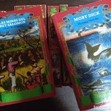Libros de segunda mano: COLECCIÓN LIBROS OBRAS MAESTRAS DE LA NOVELA DE AVENTURAS. CLUB INTERNACIONAL DEL LIBRO. Lote 145851482