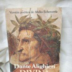 Libros de segunda mano: LIBRO ... DIVINA COMEDIA ... DANTE ALIGHIERI. Lote 146014022