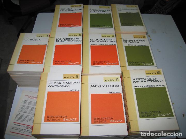 COLECCIÓN RTV - COMPLETA - 100 LIBROS - EDITORIAL SALVAT - 1970 (Libros de Segunda Mano (posteriores a 1936) - Literatura - Narrativa - Clásicos)