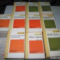 Libros de segunda mano: COLECCIÓN RTV - COMPLETA - 100 LIBROS - EDITORIAL SALVAT - 1970. Lote 146133862