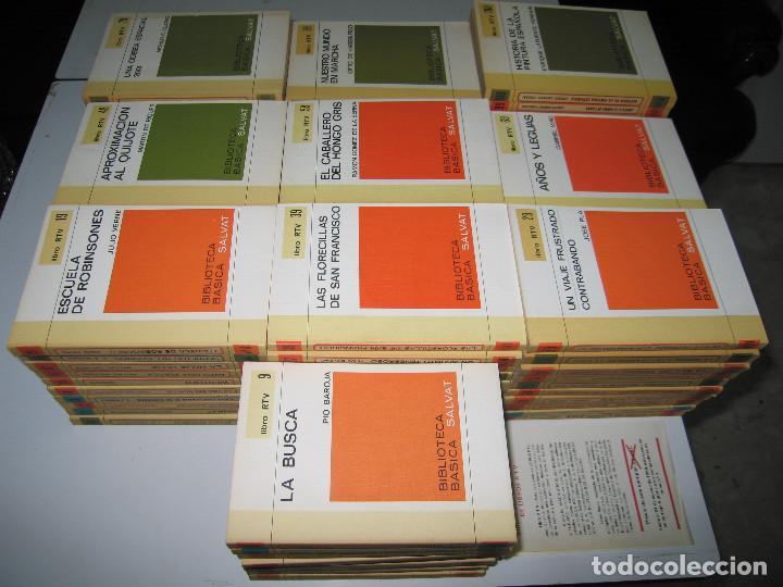 Libros de segunda mano: COLECCIÓN RTV - COMPLETA - 100 Libros - Editorial Salvat - 1970 - Foto 2 - 146133862