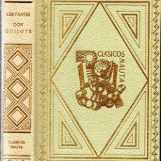 Libros de segunda mano: CERVANTES : DON QUIJOTE (CLÁSICOS NAUTA, 1966) ILUSTRACIONES DE AGUILAR MORÉ. Lote 146226814