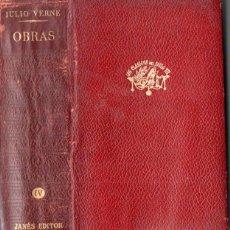 Libros de segunda mano: JULIO VERNE : OBRAS IV (JOSÉ JANÉS, 1959). Lote 146230818