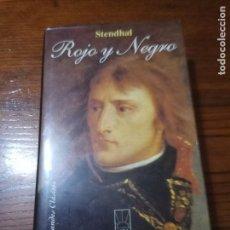 Libros de segunda mano: ROJO Y NEGRO STENDHAL EDITORIAL ALBA CLASICOS .. Lote 254853885