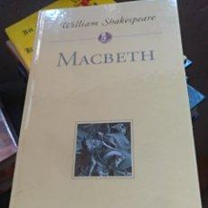 Libros de segunda mano: MACBETH WILLIAM SHAKESPEARE. Lote 146652569