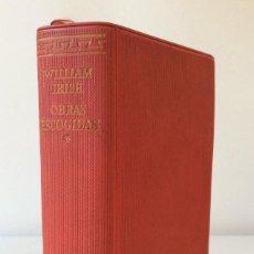 Libros de segunda mano: OBRAS ESCOGIDAS. WILLIAM IRISH. EDITORIAL AGUILAR. COLECCION EL LINCE ASTUTO. 1961. Lote 146692970
