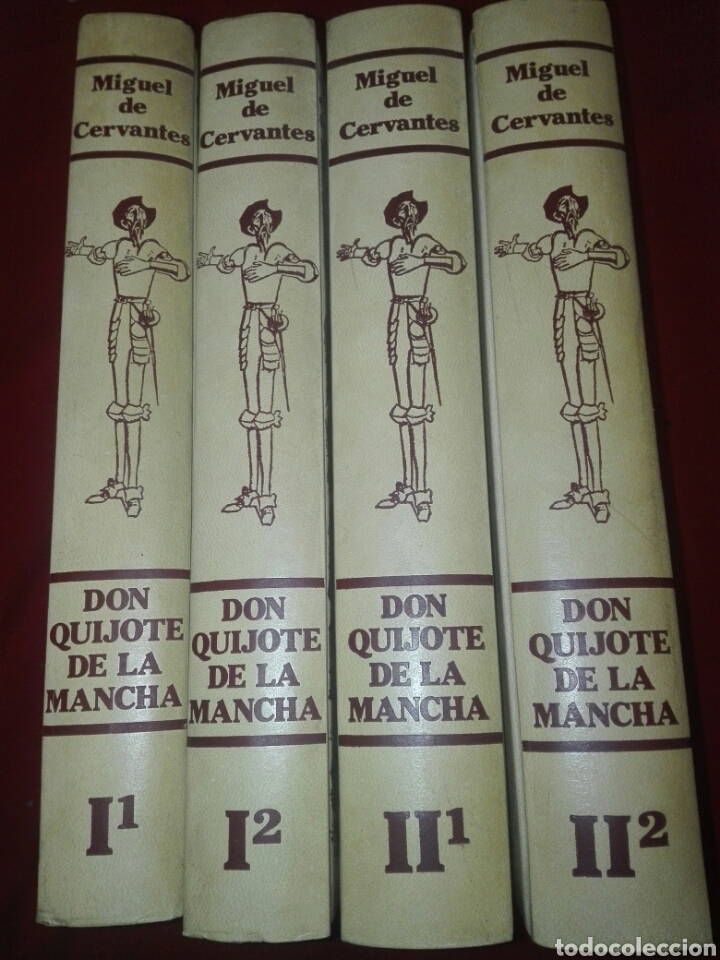DON QUIJOTE DE LA MANCHA 4 TOMOS EDICIONES RIALP 1980 (Libros de Segunda Mano (posteriores a 1936) - Literatura - Narrativa - Clásicos)