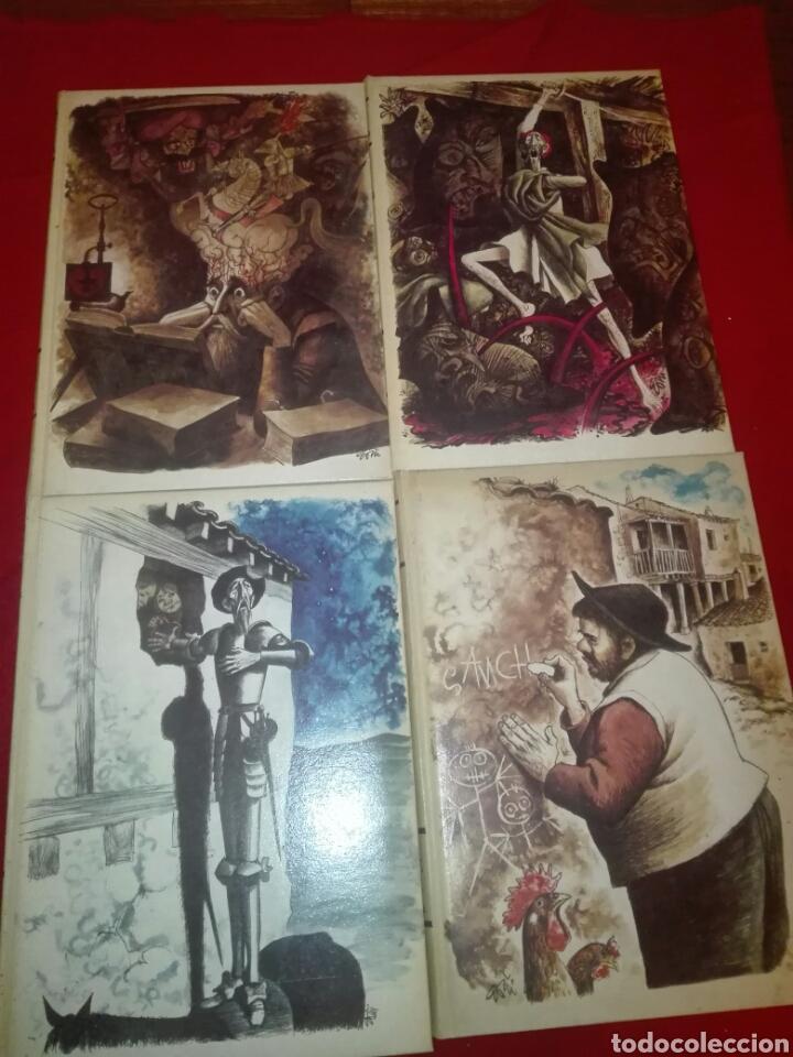 Libros de segunda mano: Don Quijote de la Mancha 4 tomos ediciones rialp 1980 - Foto 2 - 146700922