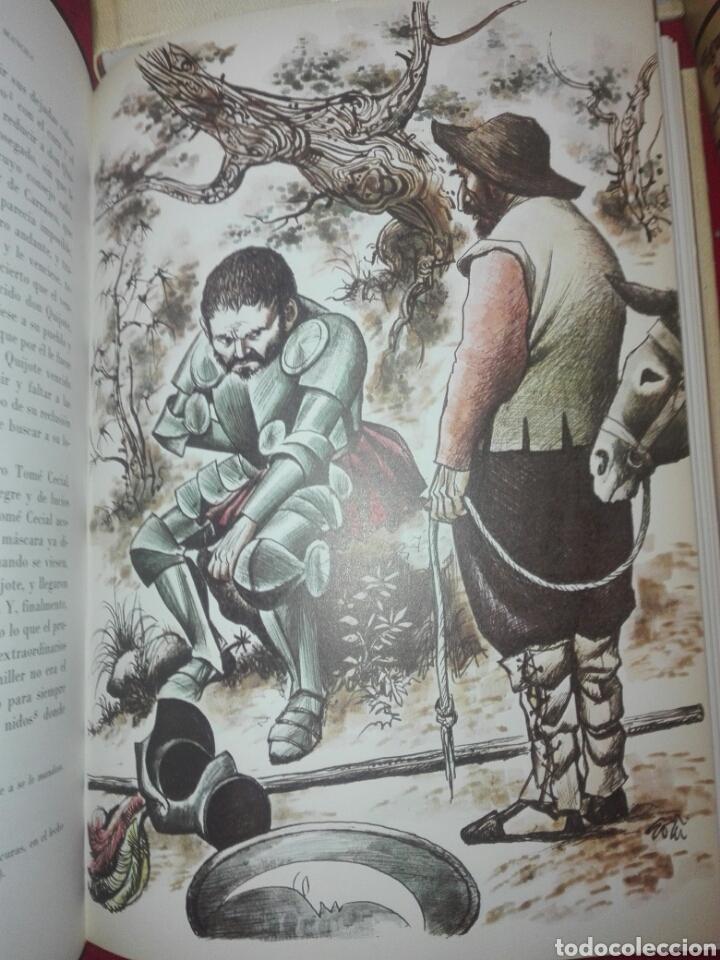 Libros de segunda mano: Don Quijote de la Mancha 4 tomos ediciones rialp 1980 - Foto 4 - 146700922