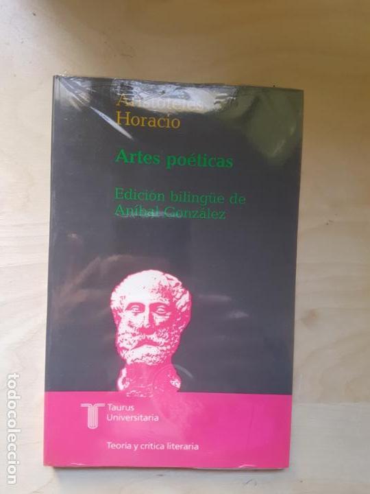 ARTES POETICAS. ARISTÓTELES. HORACIO. ED TAURUS. PRECINTADO (Libros de Segunda Mano (posteriores a 1936) - Literatura - Narrativa - Clásicos)