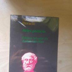 Libros de segunda mano: ARTES POETICAS. ARISTÓTELES. HORACIO. ED TAURUS. PRECINTADO. Lote 146721106
